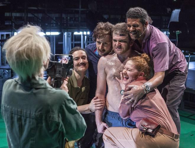 Susann Vent-Wunderlich (Sopran), Leslie Visco (Sopran), Marco Vassalli (Bariton), José Gallisa (Bass), Stephanie Schadeweg (Schauspielerin), Dennis Pörtner (Schauspieler)