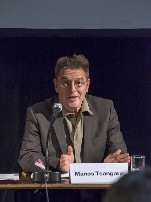 Pressekonferenz 19.11.2015 | Manos Tsangaris
